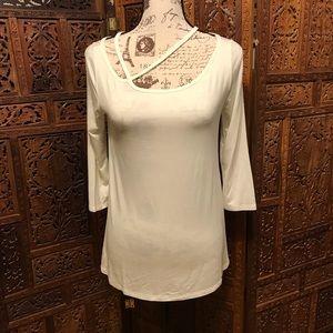 Mittoshop Green Label White Tunic